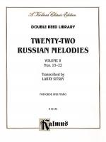 Twenty-two Russian Melodies, Volume 2 Sheet Music