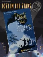 Lost in the Stars (Vocal Selections) Sheet Music