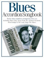 Blues Accordion Songbook Sheet Music