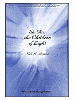 We Are the Children of Light Sheet Music