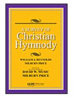 A Survey of Christian Hymnody (Revised 2011) Sheet Music