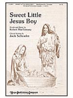 Sweet Little Jesus Boy Sheet Music