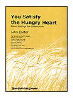 You Satisfy the Hungry Heart Sheet Music
