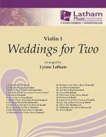 Weddings for Two - Violin I part Sheet Music