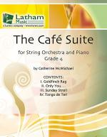 The Cafe Suite for String Orchestra and Piano Sheet Music