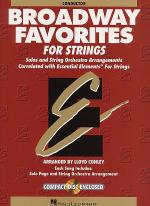 Broadway Favorites For Strings - Conductor Score/CD Sheet Music
