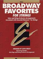 Broadway Favorites For Strings - Viola Sheet Music
