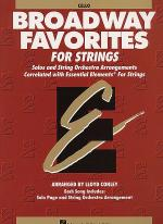 Broadway Favorites For Strings - Cello Sheet Music