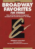 Broadway Favorites For Strings - String Bass Sheet Music