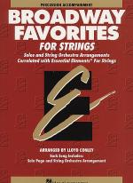 Broadway Favorites For Strings - Percussion Accompaniment Sheet Music