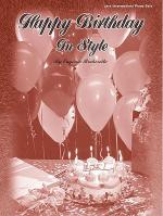 Happy Birthday in Style Sheet Music