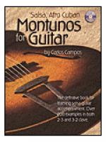 Salsa & Afro Montunos for Guitar Sheet Music