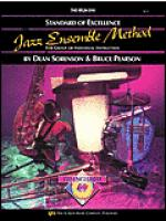 Standard of Excellence Jazz Ensemble Book 1, Drums Sheet Music