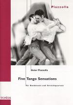 Five Tango Sensations Sheet Music