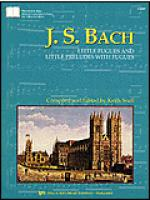 Bach-Little Fugues & Little Preludes with Fugues Sheet Music