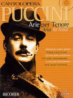 Cantolopera: Puccini Arias for Tenor Sheet Music
