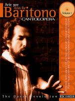 Cantolopera: Arias for Baritone - Volume 1 Sheet Music
