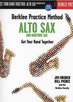 Berklee Practice Method: Alto Sax And Baritone Sax - Book/CD Sheet Music