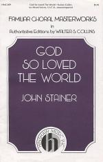 God So Loved the World Sheet Music