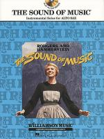 The Sound of Music - Instrumental Solos for Alto Sax (with CD) Sheet Music