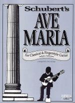 Ave Maria for Classical Guitar Sheet Music