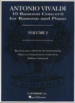 10 Bassoon Concerti Volume 2 (Bassoon And Piano) Sheet Music