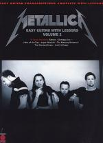 Metallica - Easy Guitar with Lessons, Volume 2 Sheet Music