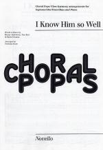 Björn Ulvaeus/ I Know Him So Well (Chess) - SATB Sheet Music