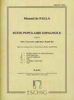 Suite Populaires Espagnole Sheet Music