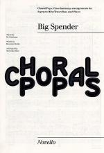 Big Spender (Sweet Charity) Choral Pops Sheet Music
