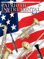 Patriotic Instrument Solos Book/CD - Clarinet Sheet Music