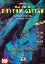 Masters of Rhythm Guitar Book/CD Set Sheet Music