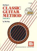 Classic Guitar Method Volume 2 Book/CD Set Sheet Music