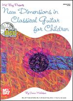 New Dimensions in Classical Guitar for Children Book/CD Set Sheet Music