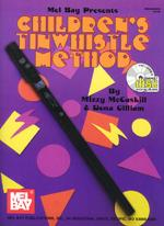 Children's Tinwhistle Method Book/CD Set Sheet Music