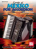 Songs of Mexico for Accordion Sheet Music
