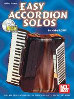 Easy Accordion Solos Book/CD Set Sheet Music