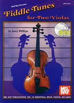 Fiddle Tunes for Two Violas Book/CD Set Sheet Music