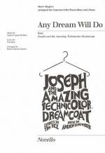 Any Dream Will Do Show Singles Sheet Music