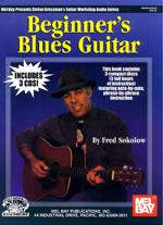 Beginner's Blues Guitar Book/3-CD Set Sheet Music