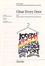 Andrew Lloyd Webber/Tim Rice: Close Every Door (SATB/Piano) Sheet Music
