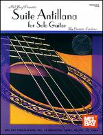 Suite Antillana for Solo Guitar Book/CD Set Sheet Music