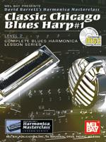 Classic Chicago Blues Harp #1 Book/CD Set Sheet Music