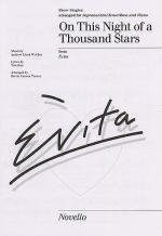 On This Night Of A Thousand Stars Show Singles Sheet Music