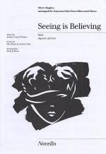 Seeing Is Believing Show Singles Sheet Music