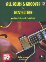All Solos and Grooves for Jazz Guitar Book/CD Set Sheet Music