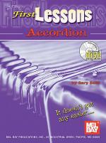 First Lessons Accordion Book/CD Set Sheet Music