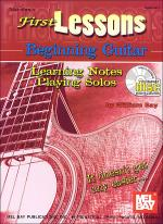 First Lessons Beginning Guitar Book/CD Set Sheet Music