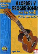 Bajo Sexto - Chord Progressions Book/CD Set Sheet Music