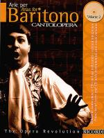 Cantolopera: Arias for Baritone - Volume 2 Sheet Music